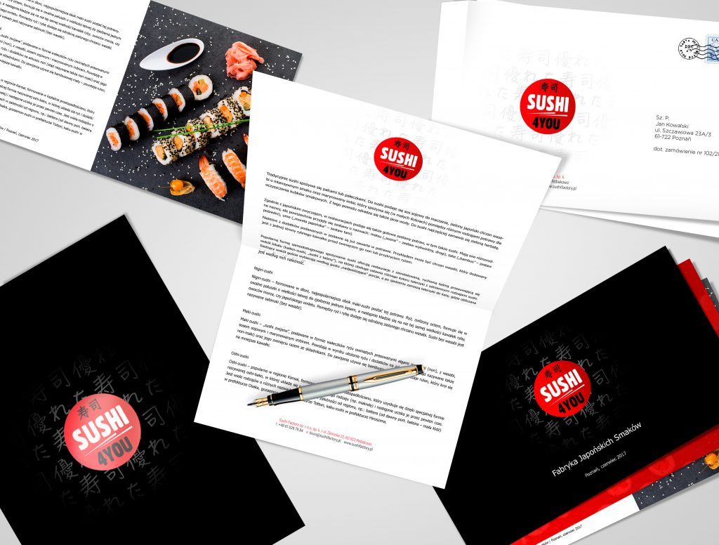 Corporate Identity dla Sushi Factory