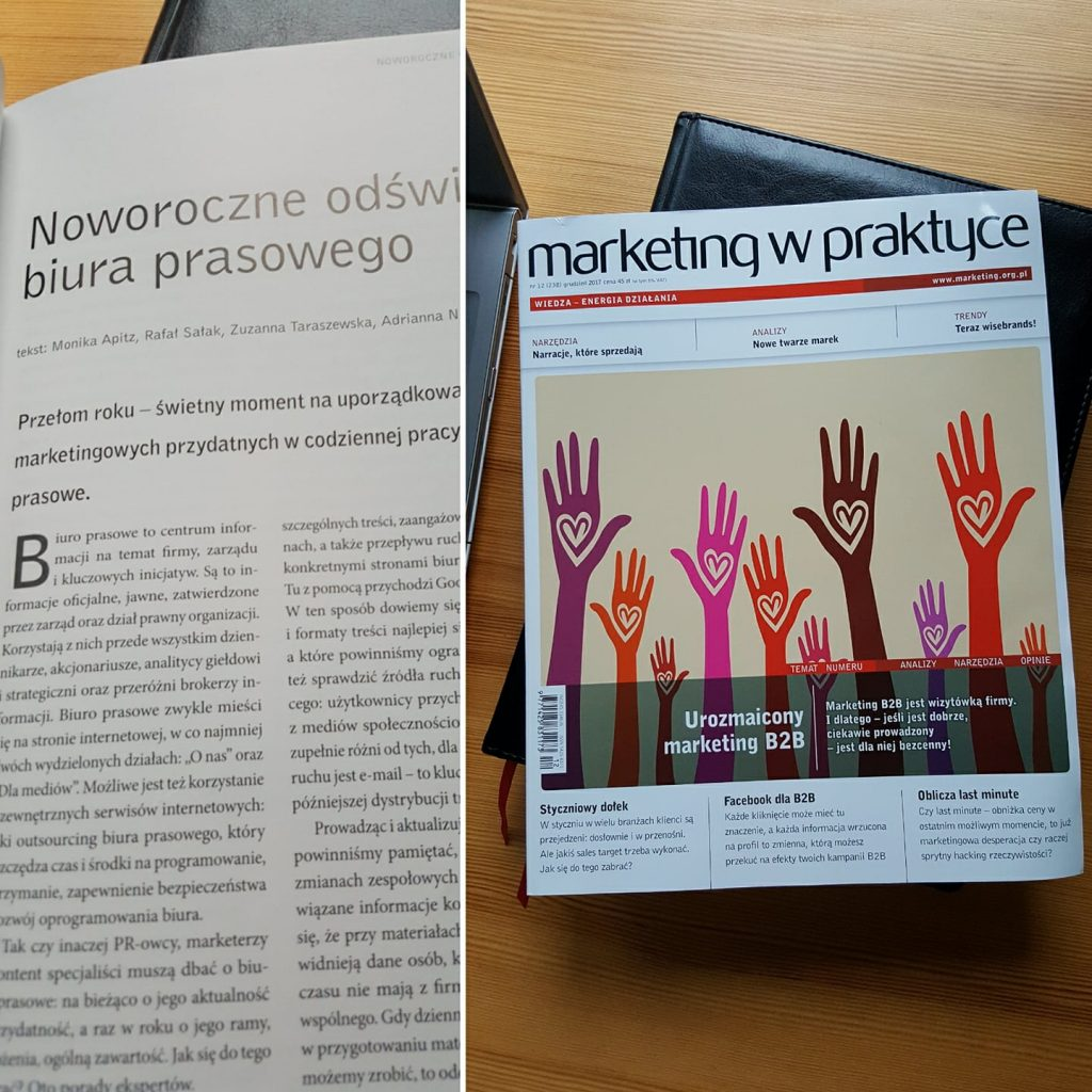 Polecamy lekturę – my w Marketingu w Praktyce